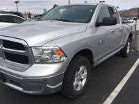 From home to the job site, this Silver 2017 Ram 1500