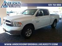 New Price! Bright White Clearcoat 2017 Ram 1500 SLT 4WD