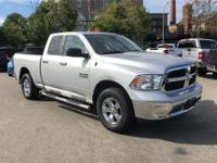 CARFAX One-Owner.Silver 2017 Ram 1500 4D Quad Cab 4WD