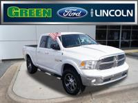 New Price! CARFAX One-Owner. Clean CARFAX.2017 Ram 1500