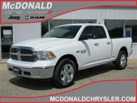 Options:  2017 Ram 1500 Slt 4X4 Quad Cab 140 In.