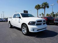 2017 Ram 1500 Sport Crew Cab with 20 Polished Alloy