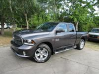Options:  2017 Ram 1500 Sport|This 2017 Ram 1500 4Dr