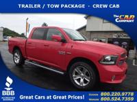 Used 2017 Ram 1500, DESIRABLE FEATURES: REMOTE START, a