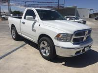 White 2017 Ram 1500 Express RWD 8-Speed Automatic 3.6L