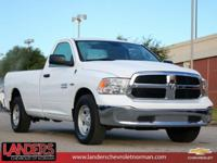 Bright White Clearcoat 2017 Ram 1500 Tradesman RWD