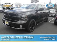 RAM!!! HEMI!!! 4X4!!! BLK OUT PKG!!!! 20' RIMS!!!