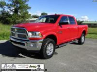 CARFAX One-Owner. Clean CARFAX. Red 2017 Ram 2500