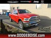 This Ram 2500 boasts a Intercooled Turbo Diesel I-6 6.7