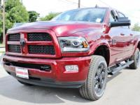 Turn heads in this LUXURIOUS deep red 2017 Ram 2500
