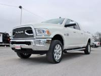 Turn heads in this LUXURIOUS bright white 2017 Ram 2500