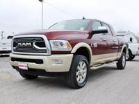 Turn heads in this LUXURIOUS red & gold 2016 Ram 2500