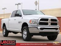 CARFAX One-Owner. White 2017 Ram 2500 Big Horn 4WD