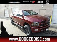 This Ram 2500 delivers a Premium Unleaded V-8 6.4 L/392