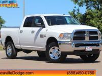 2017 Ram 2500 Bright White ClearcoatCARFAX