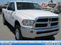 Options:  2017 Ram 2500 Slt|Carfax One-Owner. Clean