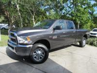 This 2017 Ram 2500 4dr SLT 4x4 Crew Cab 8' Box features