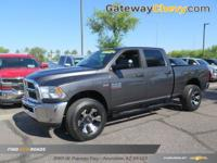 4D Crew Cab and 6.4L Heavy Duty V8 HEMI w/MDS. This is