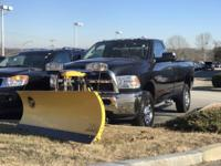 ** BRAND NEW FISHER, MINUTE MOUNT 2, 8' PLOW AND FRAME,
