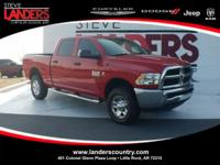 Clean CARFAX. Flame Red Clearcoat 2017 Ram 2500