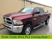 Recent Arrival! 2017 Ram 2500 Clean CARFAX. ***SERVING