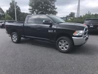 Black 2017 Ram 2500 Tradesman 4WD 6-Speed Automatic