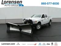 Includes 8'6' Fisher XV2 Stainless V-Plow with extender