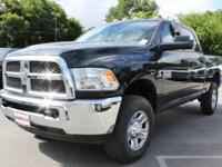 Purchase this BRAND NEW bold black 2017 Ram 2500