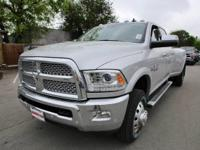 Turn heads in this LUXURIOUS bright silver 2017 Ram