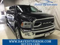 Brilliant Black Crystal Pearlcoat 2017 Ram 3500 Laramie