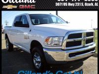 New Price! CARFAX One-Owner.  3500 SLT, 4D Crew Cab,