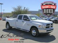 This Ram 3500 delivers a Intercooled Turbo Diesel I-6