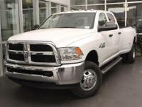 This Ram 3500 boasts a Intercooled Turbo Diesel I-6 6.7