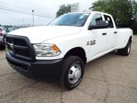 A 2017 Ram 3500 Crew Cab 4x4 Diesel with just 400