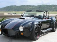 2017 Backdraft Racing 1965 Roadster   498 Miles Black
