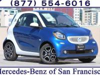 Midnight Blue 2017 smart Fortwo electric drive RWD