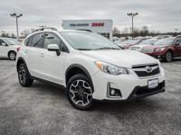 Certified. Crystal White Pearl 2017 Subaru Crosstrek