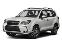 2017 Subaru Forester Crystal Black Silica 2.0XT Premium