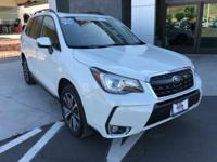 Subaru Certified. Clean CARFAX One Owner. Forester