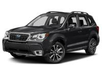 Recent Arrival! 2017 Subaru Forester 2.0XT Touring
