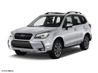 2017 Subaru Forester Ice Silver 2.0XT Touring 2.0L