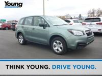 2017 Subaru Forester 2.5i Green New Price! Clean