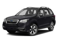 2017 Subaru Forester Gray 2.5i 32/26 Highway/City MPG