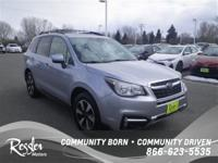 All Wheel Drive* This Silver 2017 Subaru Forester is