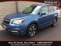 Certified. 2017 Subaru Forester 2.5i Limited Quartz