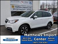 Certified. 2017 Subaru Forester 2.5i Limited AWD