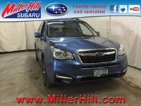 2017 Subaru Forester 2.5i Premium ready to go! One of