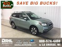 New Price! 2017 Subaru Forester 2.5i Premium Certified.