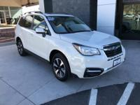 Options:  2017 Subaru Forester 2.5I Premium|White|This