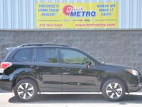 CARFAX One-Owner. Clean CARFAX. Black 2017 Subaru